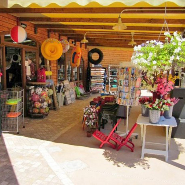 Greenchalets bazar camping Paradiso Viareggio
