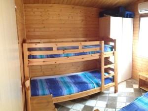 Greenchalets chalet A Toscane slaapkamer