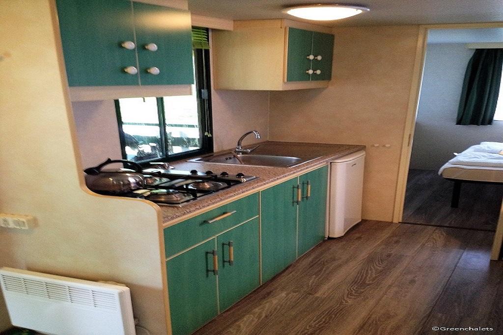 Mobile home C Porlezza keuken